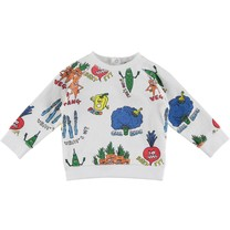 Stella McCartney kids Baby Sweatshirt Veg Gang