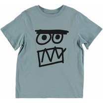 Stella McCartney kids Jongens T-shirt Face