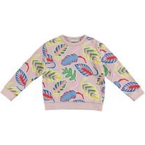 Stella McCartney kids Meisjes Sweatshirt Palm Leaf