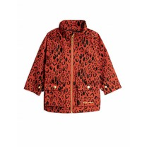 Mini Rodini Jas Leopard red