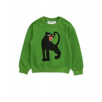 Mini Rodini Sweater Panther Green