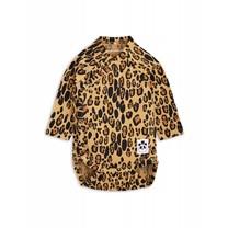 Mini Rodini Baby Overslagromper Leopard