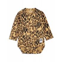 Mini Rodini Baby Romper Leopard