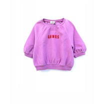 Long Live the Queen Meisjes Sweater Pink