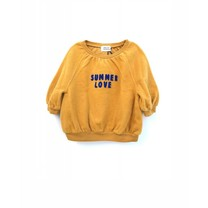 Long Live the Queen Meisjes Sweater Warm Yellow