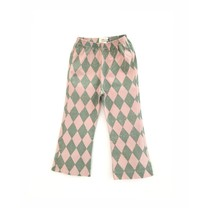 Long Live the Queen Meisjes Broek Green Diagonals