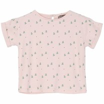 Emile et Ida Baby T shirt Poudre Pommes Vertes