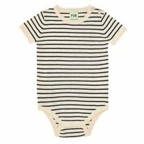 FUB Baby s/s body ecru/navy