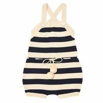 FUB Baby Overall body ecru/navy