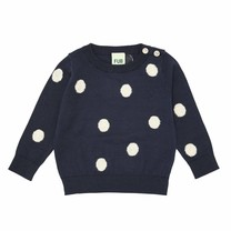 FUB Baby Dot Blouse navy