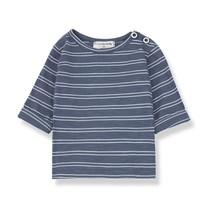 1+ in the Family HAROLD long sleeve t-shirt indigo/white