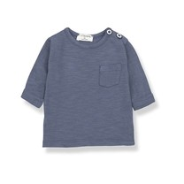1+ in the Family JOHN long sleeve t-shirt indigo