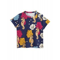 Mini Rodini Shirt Seahorse Navy