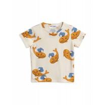 Mini Rodini Shirt Whale Orange