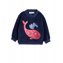 Mini Rodini Sweater Whale Terry