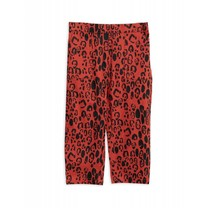 Mini Rodini Broek Leopard Red