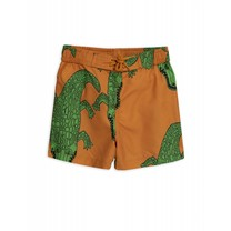 Mini Rodini Zwemshort Crocco Brown