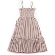 Meisjes jurk striped