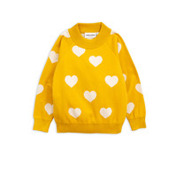 Mini Rodini Sweater Knitted Heart