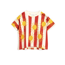 Mini Rodini T Shirt Sun Stripe
