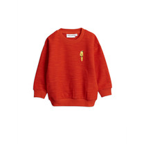 Mini Rodini Sweater Parrot red
