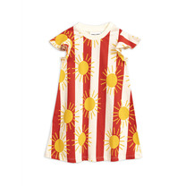 Mini Rodini Jurk Sun Stripe