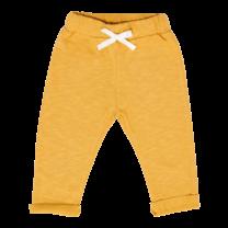 Broer & Zus Baby sweat pants mustard