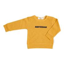 Broer & Zus Sweater Amsterdam mustard