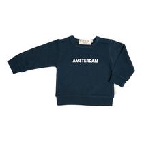 Broer & Zus Amsterdam sweater navy
