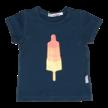 T-shirt blauwgrijs raketijsje