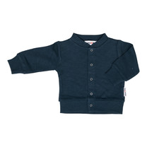 Broer & Zus Vest buttons navy