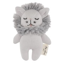 Konges Slojd Mini Lion Knuffel Grey