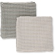 Muslin Cloth Baby 2-pack striped