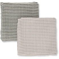 Konges Slojd Muslin Cloth Baby 2-pack striped