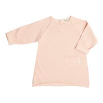 Broer & Zus Baby jurkje roze pocket lmw