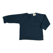 Broer & Zus Sweater navy pocket