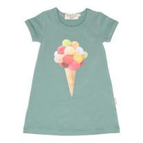 Broer & Zus Meisjes jurk cactus ijsje