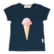 Meisjes t-shirt navy ice