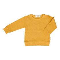 Broer & Zus Sweater mustard uni
