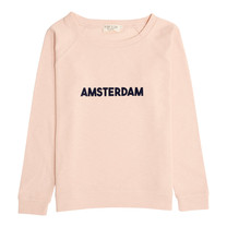 Broer & Zus Dames sweater Amsterdam pink