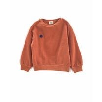 Long Live the Queen Meisjes sweater terry pumpkin