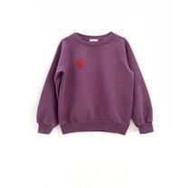Long Live the Queen Meisjes sweater raglan hortensia