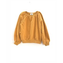 Long Live the Queen Meisjes sweater terry sunflower