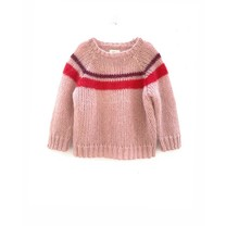 Long Live the Queen Meisjes sweater pale pink