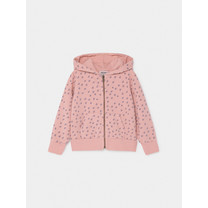 Bobo Choses All Over Stars Sweater met capuchon roze