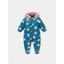 Bobo Choses All Over Big Saturn Padded Jumpsuit Infinity