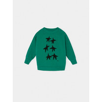 Bobo Choses Stars Sweater Groen