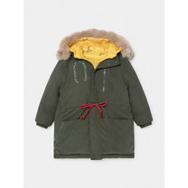 Bobo Choses Reversible All Over Stars Hooded Anorak groen