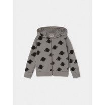 Bobo Choses All Over Big Saturn Hooded Sweater blauw