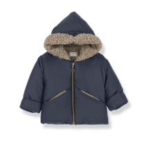 1+ in the Family Jas Calgary donkerblauw